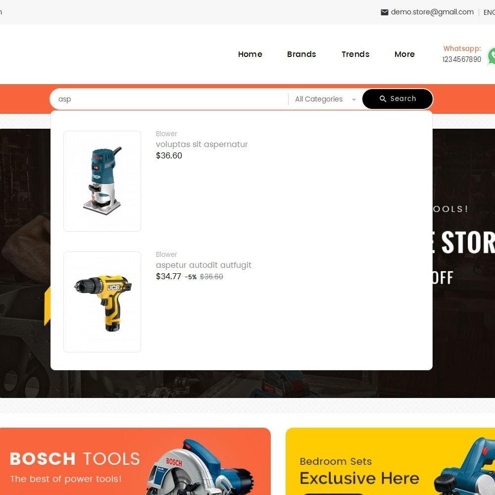 theme - Электроника и компьютеры - Mega Mart Tools Equipment - 9