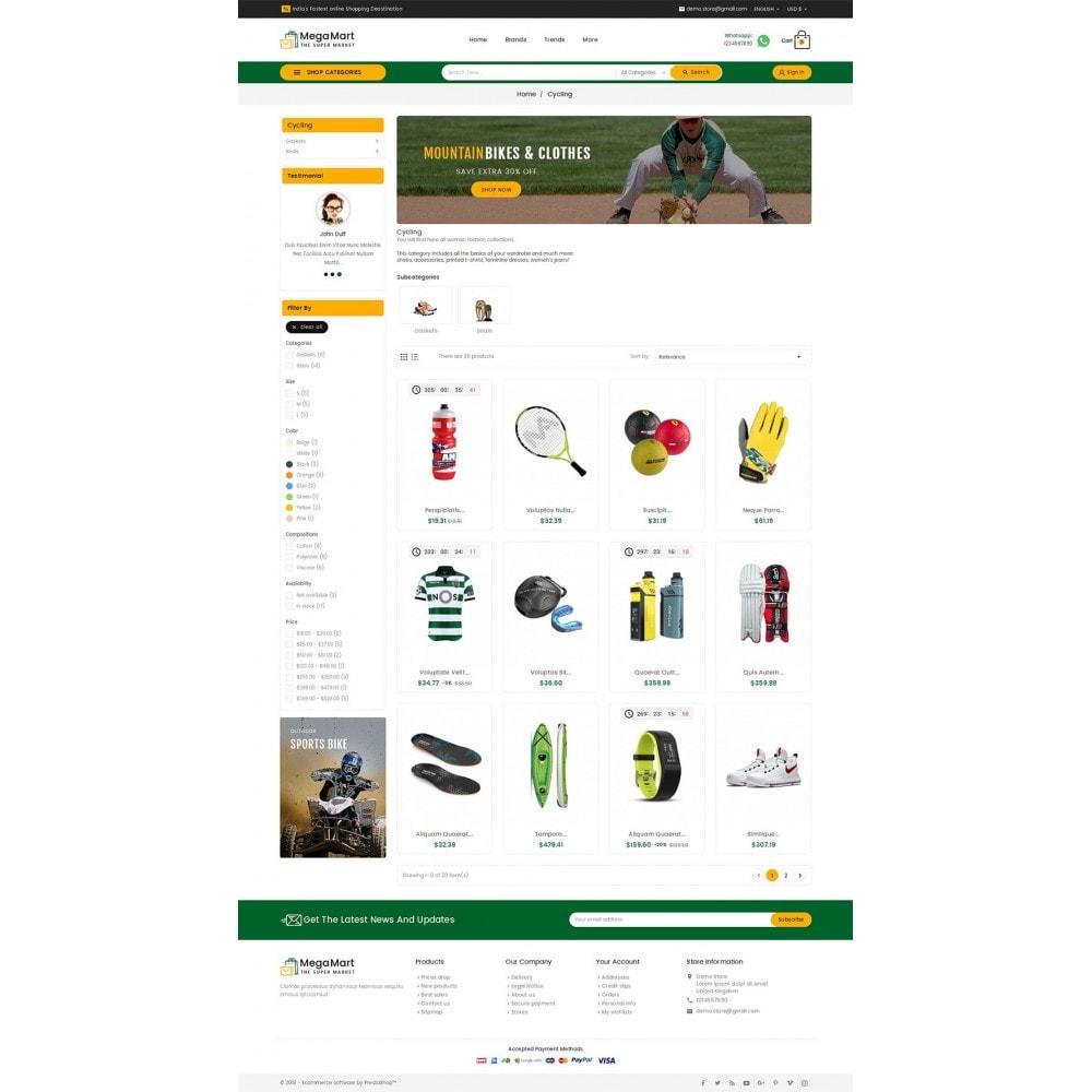 theme - Sport, Activiteiten & Reizen - Mega Mart Sports Club - 3