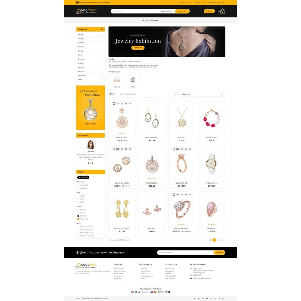 theme - Sieraden & Accessoires - Mega Mart Jewelry Imitation - 3