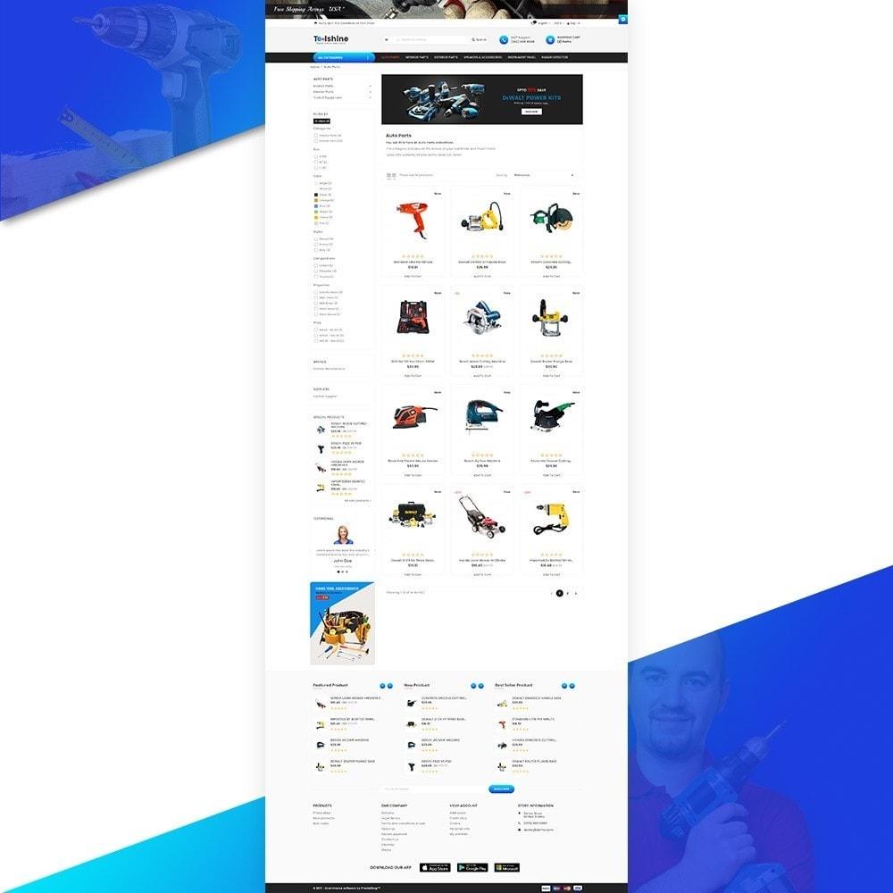 theme - Samochody - ToolShine – Tool Super Store v2 - 3