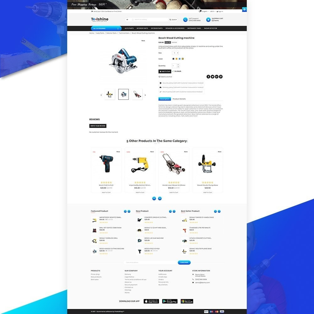 theme - Autos & Motorräder - ToolShine – Tool Super Store v2 - 4