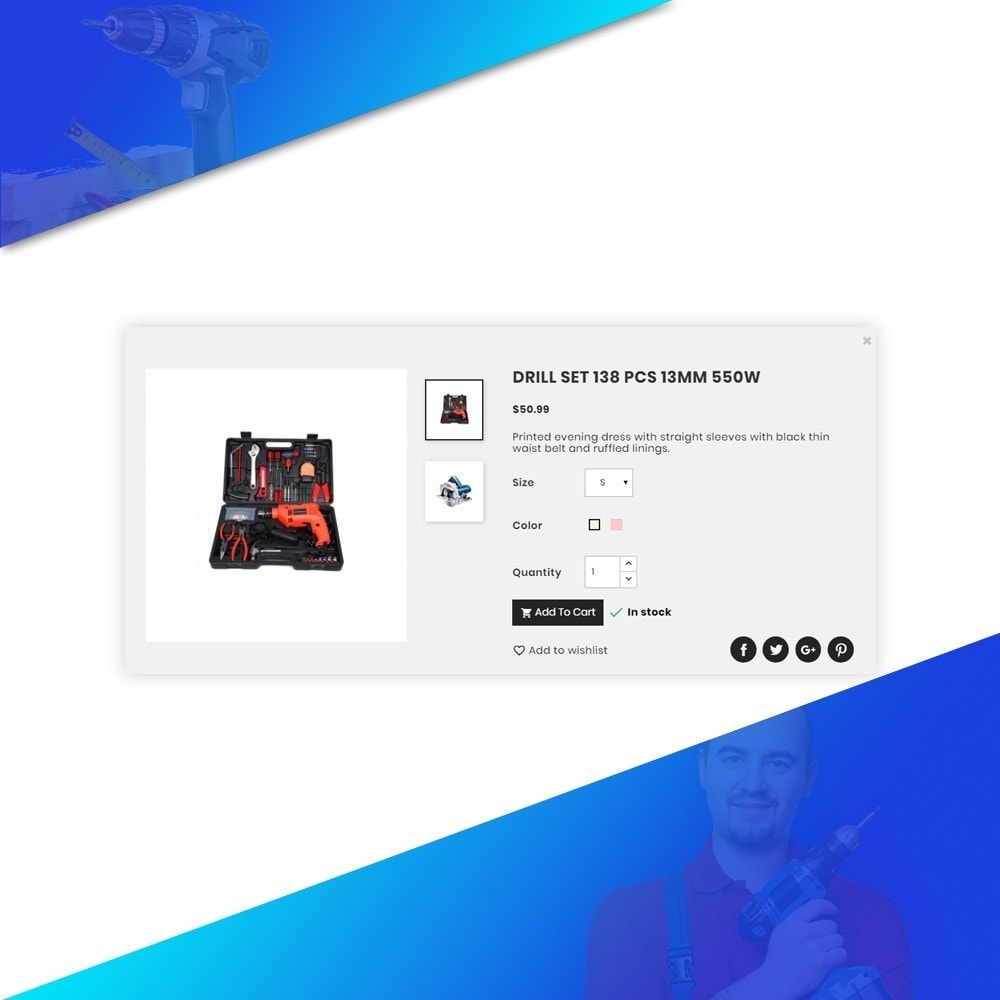 theme - Autos & Motorräder - ToolShine – Tool Super Store v2 - 8