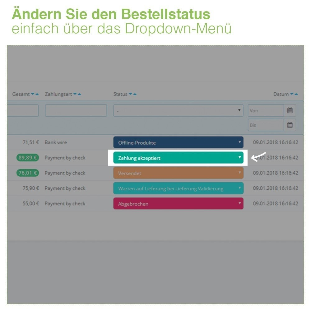 bundle - Auftragsabwicklung - Display Pack - Increase your Visibility - 3 Modules - 3