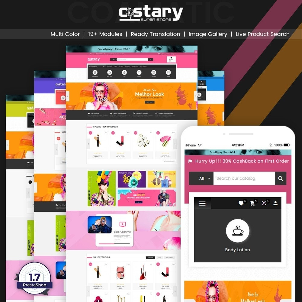 theme - Health & Beauty - Costary – Cosmetics Super Store - 1