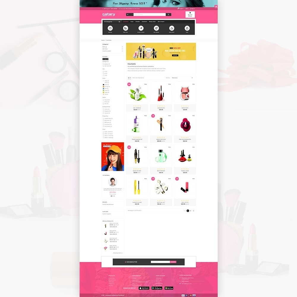 theme - Health & Beauty - Costary – Cosmetics Super Store - 3
