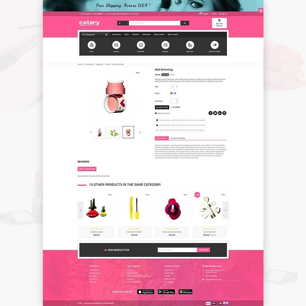 theme - Health & Beauty - Costary – Cosmetics Super Store - 4