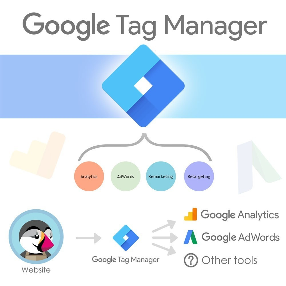 module - Статистика и анализ - Google Tag Manager Integration - 1