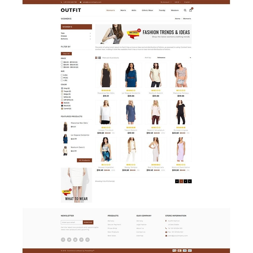 theme - Moda & Obuwie - Outfit Fashion Store - 3