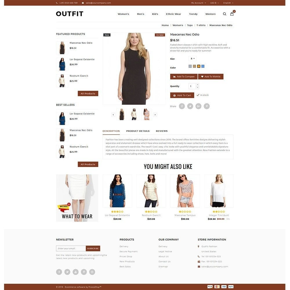 theme - Moda & Obuwie - Outfit Fashion Store - 5