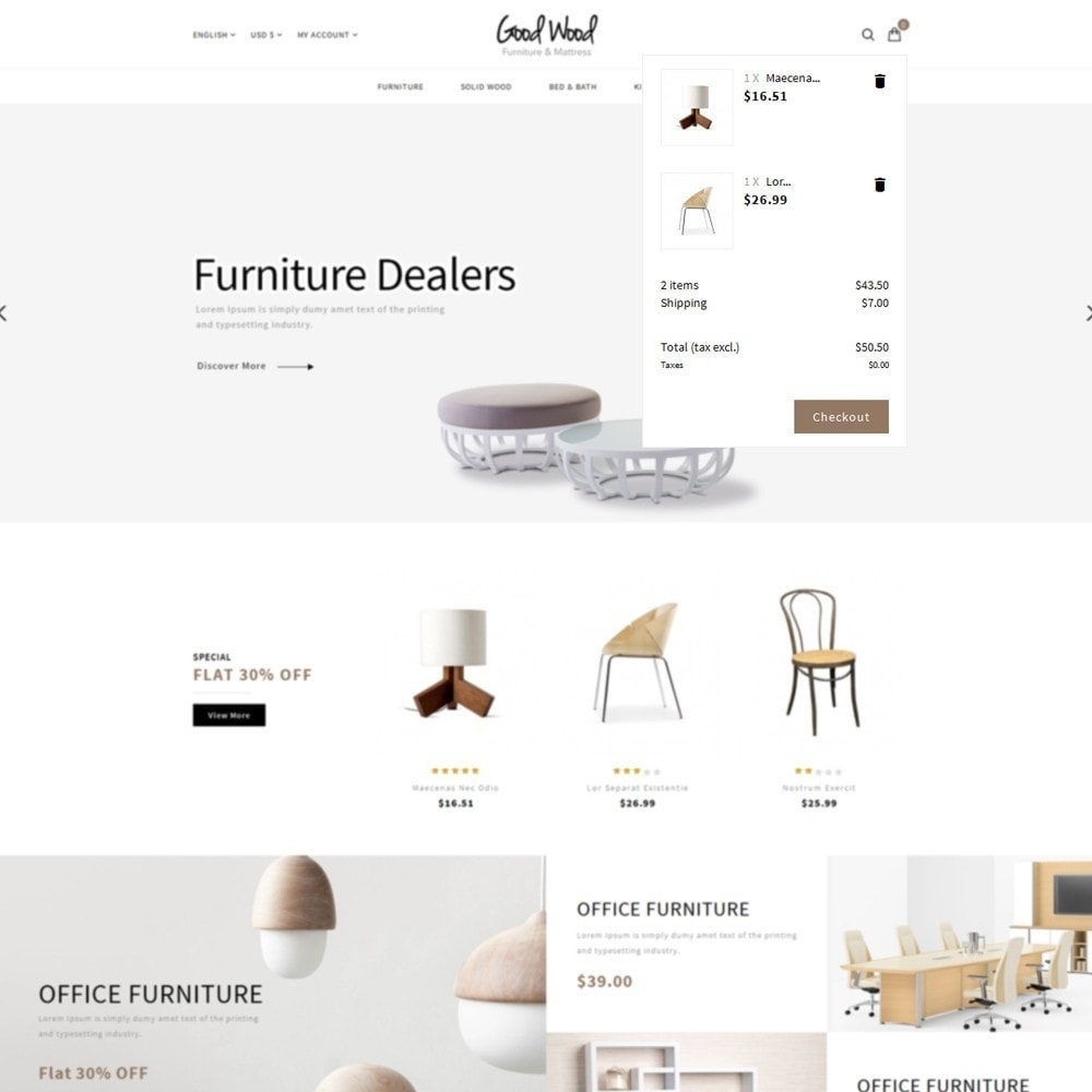 theme - Dom & Ogród - Goodwood Furniture Store - 7