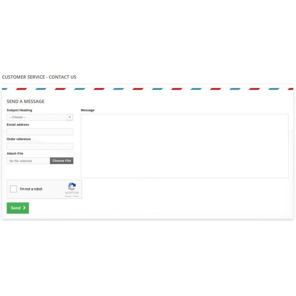 module - Seguridad y Accesos - Google reCaptcha V2 - 1