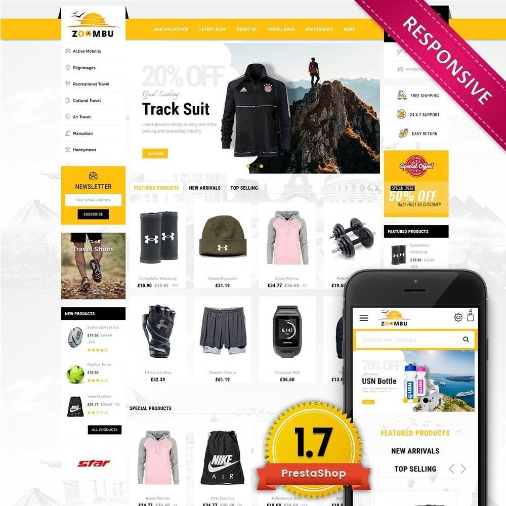 theme - Sport, Loisirs & Voyage - Zoombu Travel Store - 1