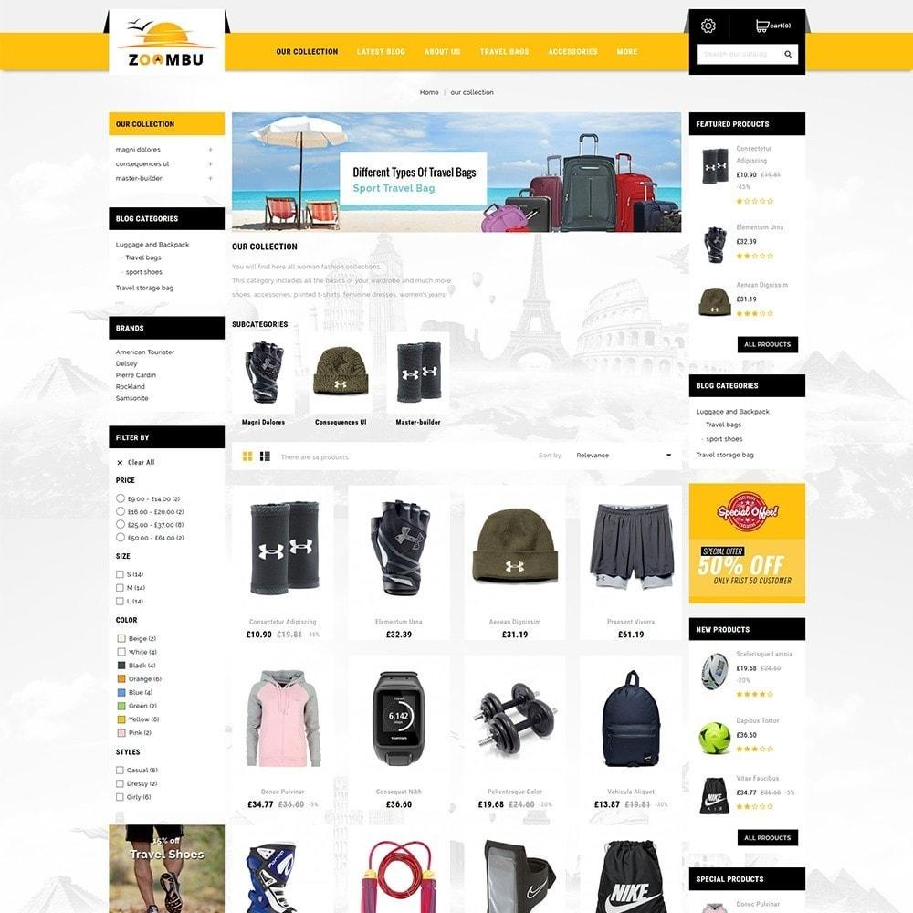 theme - Sport, Loisirs & Voyage - Zoombu Travel Store - 4