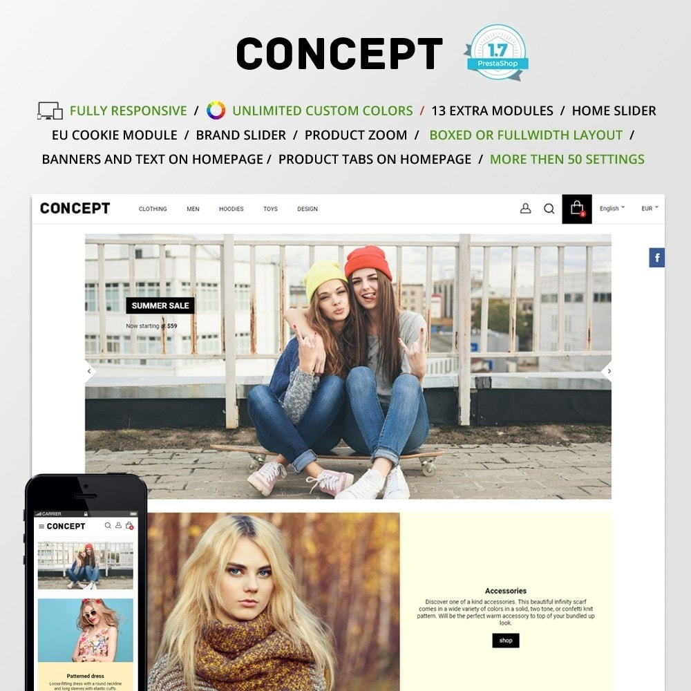 theme - Mode & Chaussures - Concept - 1