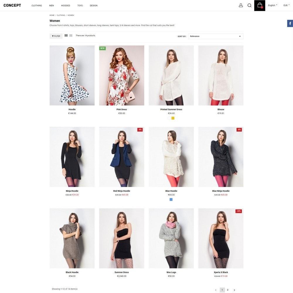 theme - Moda y Calzado - Concept - 6