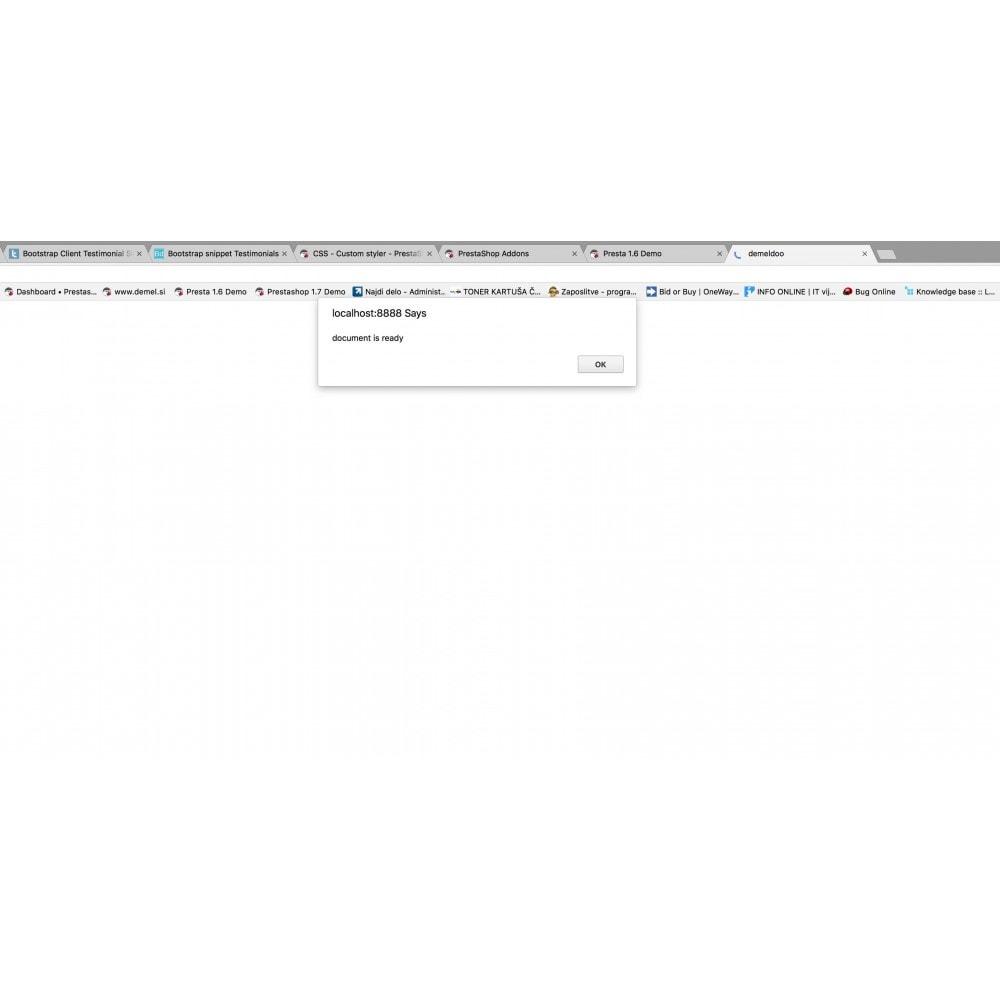 module - Personalizacja strony - Custom (Javascript) JS - 2