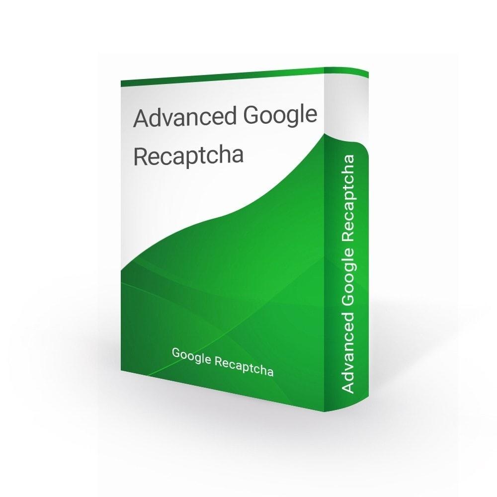 module - Sicherheit & Brechtigungen - Advanced Google Recaptcha - 1