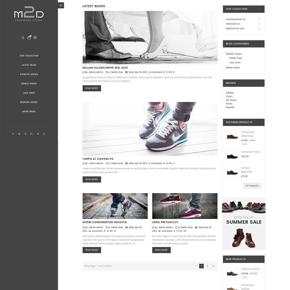 theme - Mode & Schoenen - M2D Footwear - 6