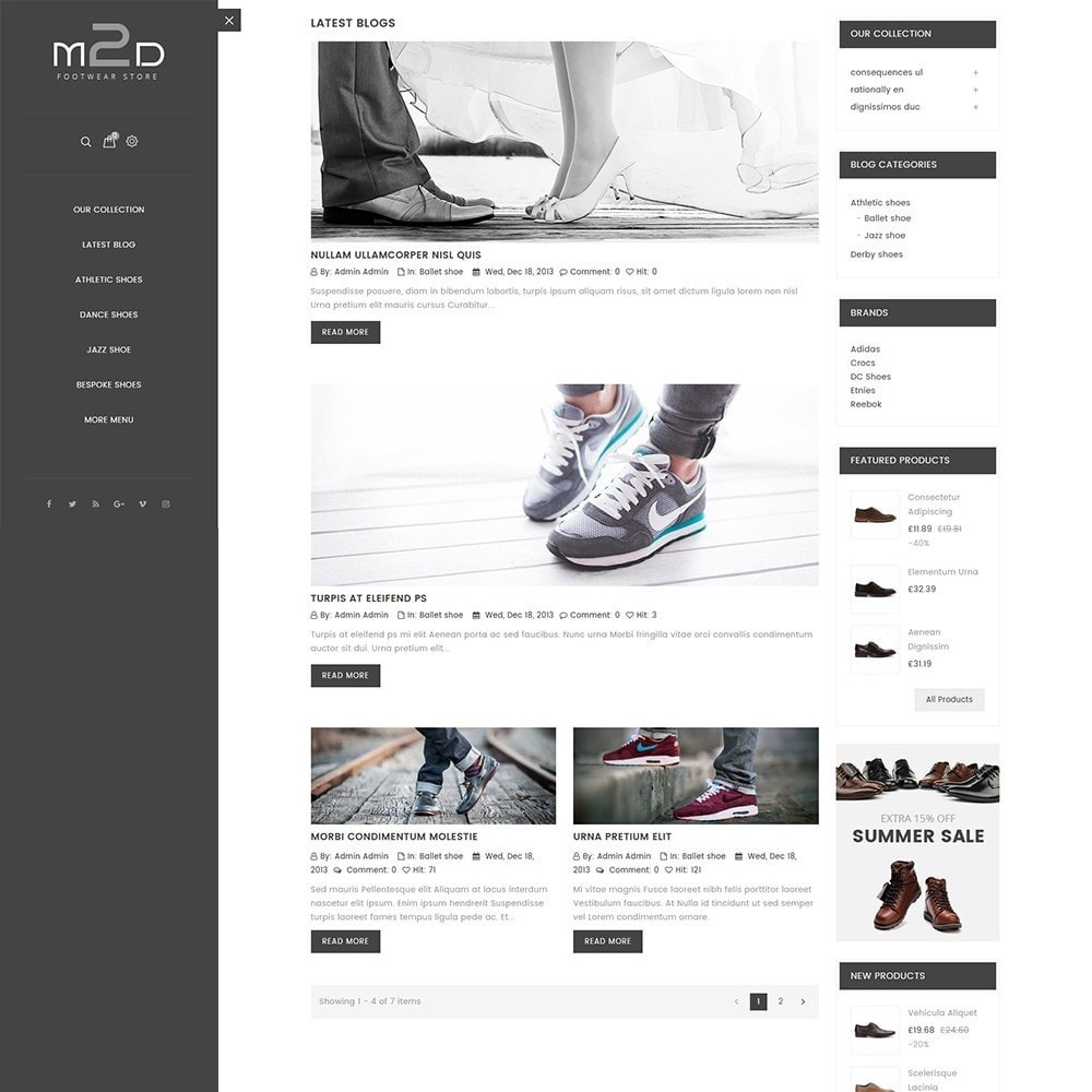 theme - Mode & Chaussures - M2D Footwear - 8