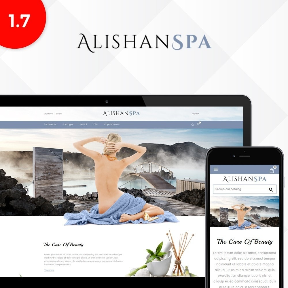 theme - Salute & Bellezza - Alishan Spa Store - 1