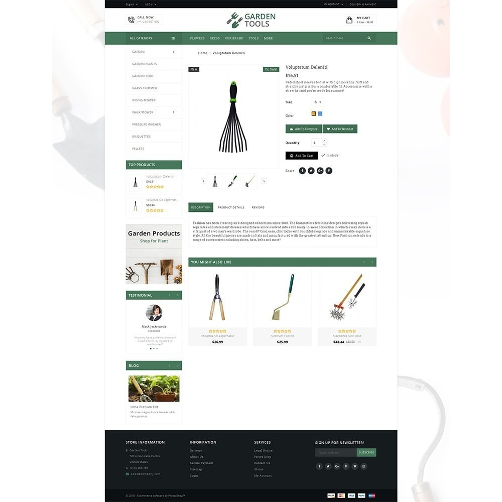 theme - Heim & Garten - Garden Tools Store - 5
