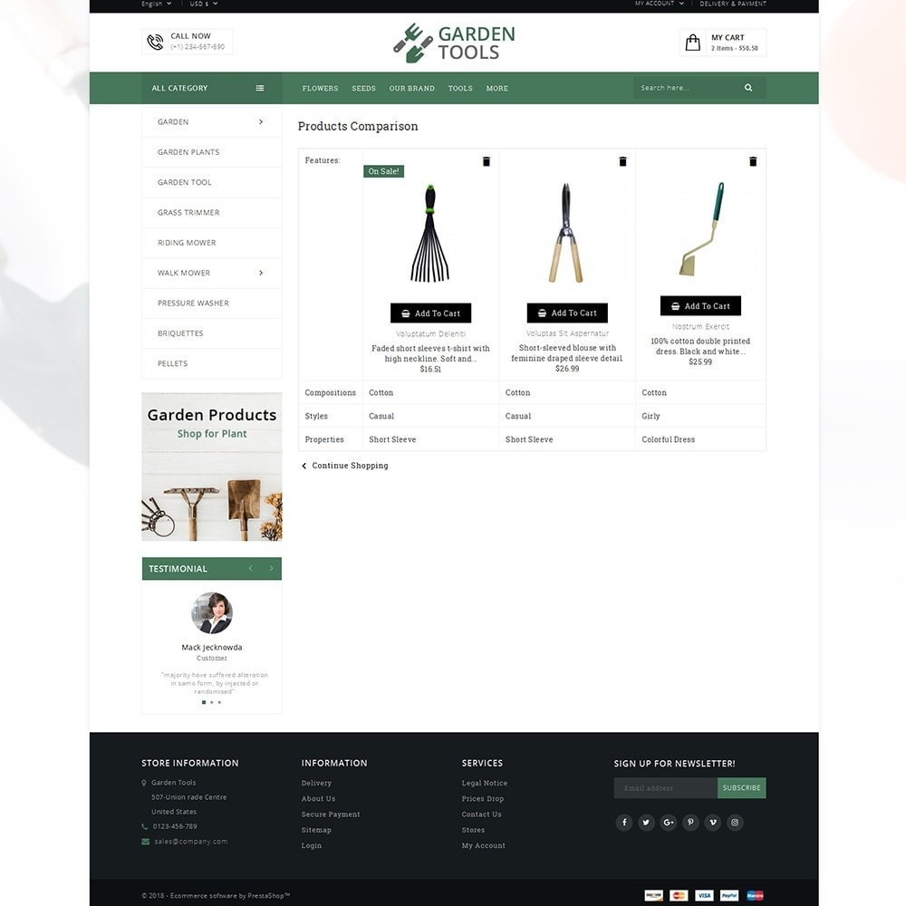 theme - Heim & Garten - Garden Tools Store - 9