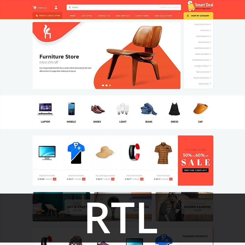theme - Elettronica & High Tech - Smartdeal Mega Store - 3