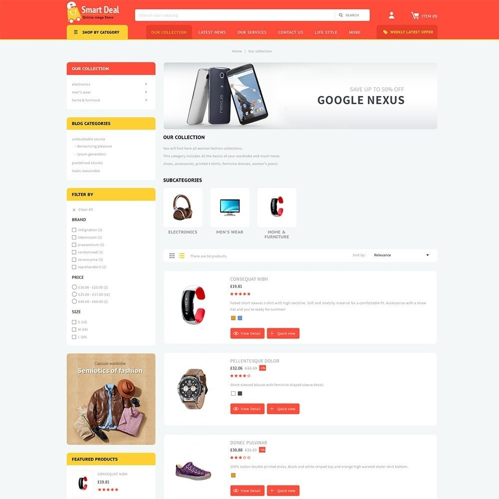 theme - Elettronica & High Tech - Smartdeal Mega Store - 5