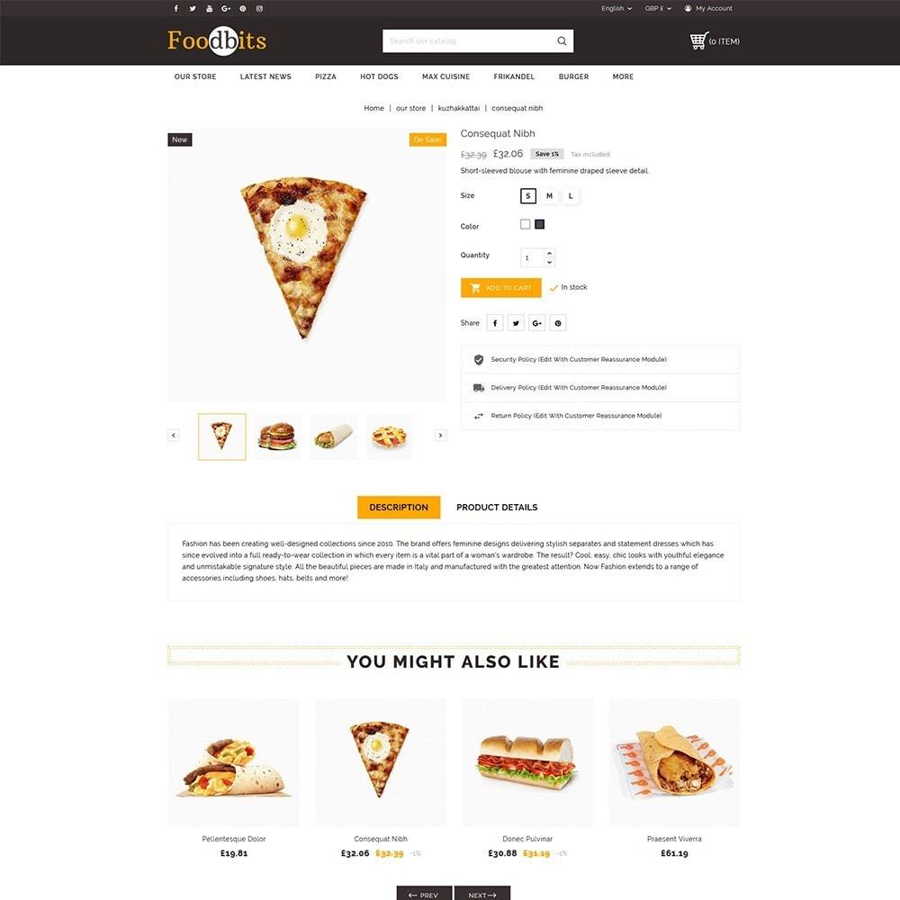 theme - Alimentos & Restaurantes - Foodbits Restaurant - 6