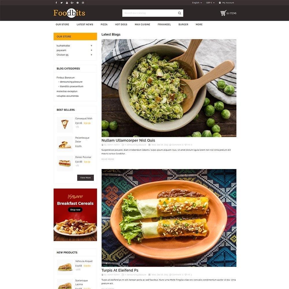theme - Żywność & Restauracje - Foodbits Restaurant - 7