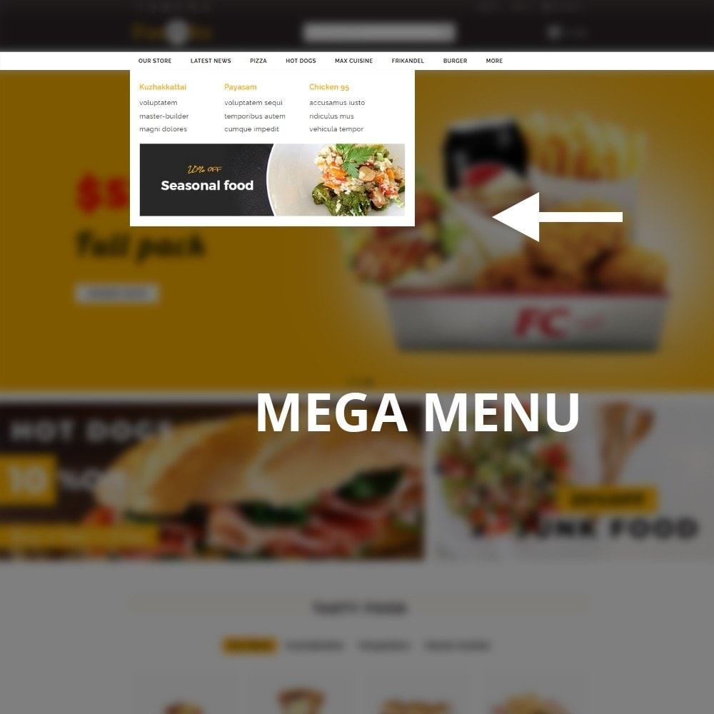 theme - Alimentos & Restaurantes - Foodbits Restaurant - 9