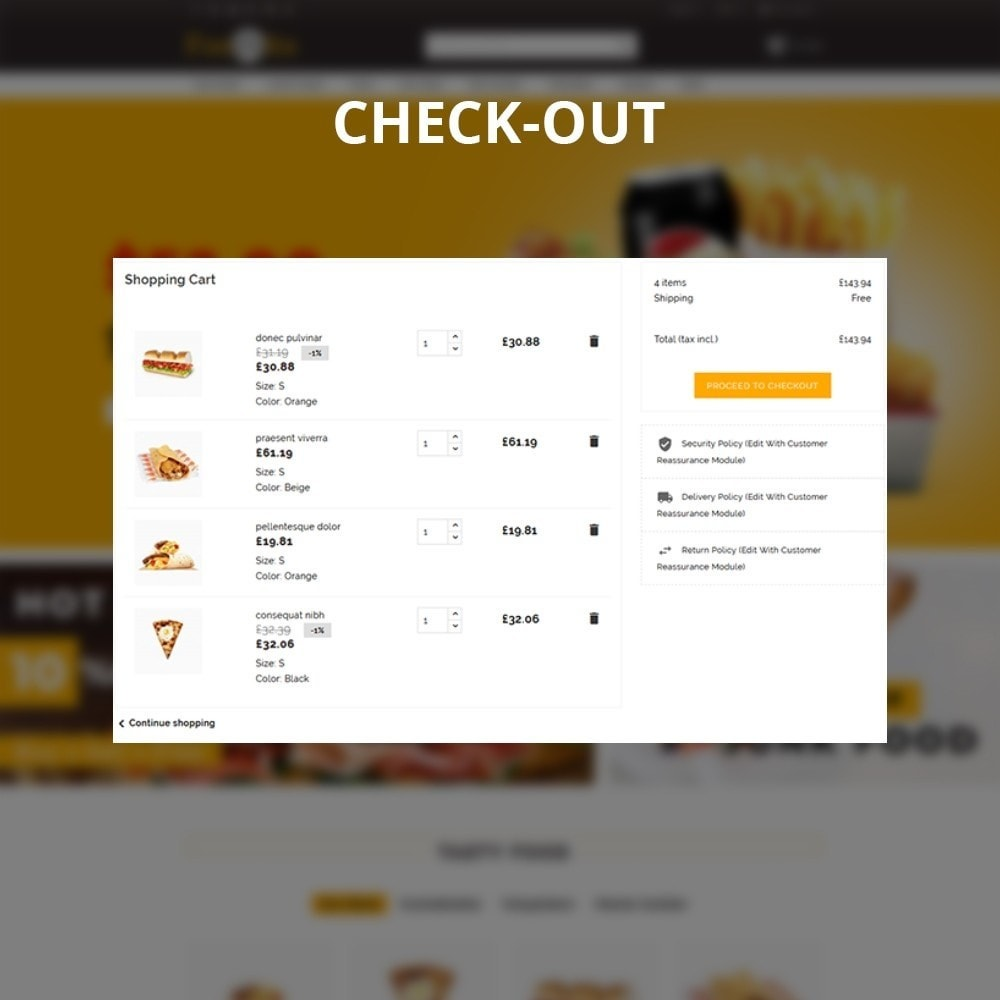 theme - Alimentos & Restaurantes - Foodbits Restaurant - 11