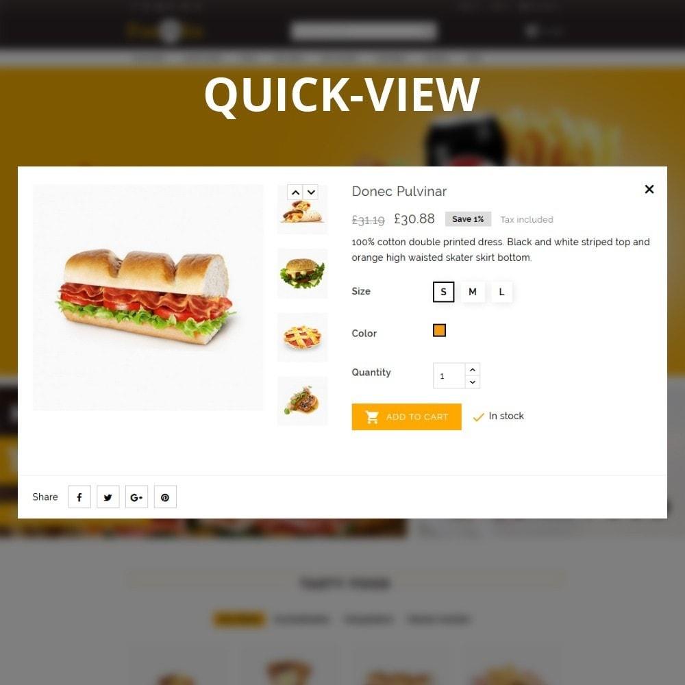 theme - Gastronomía y Restauración - Foodbits Restaurant - 12