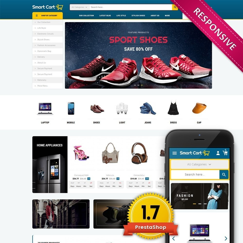 theme - Mode & Schoenen - Smartcart Mega Store - 1