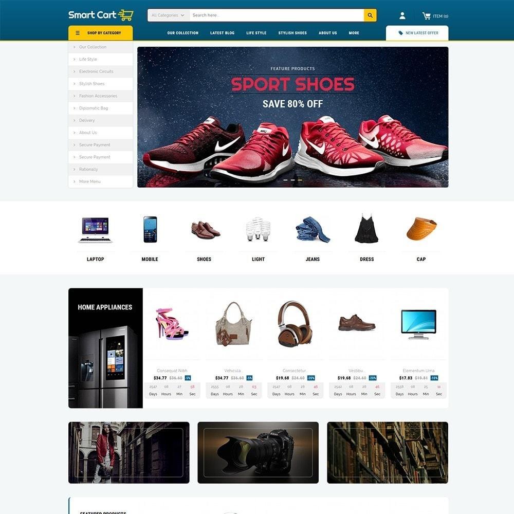theme - Moda & Calzature - Smartcart Mega Store - 2