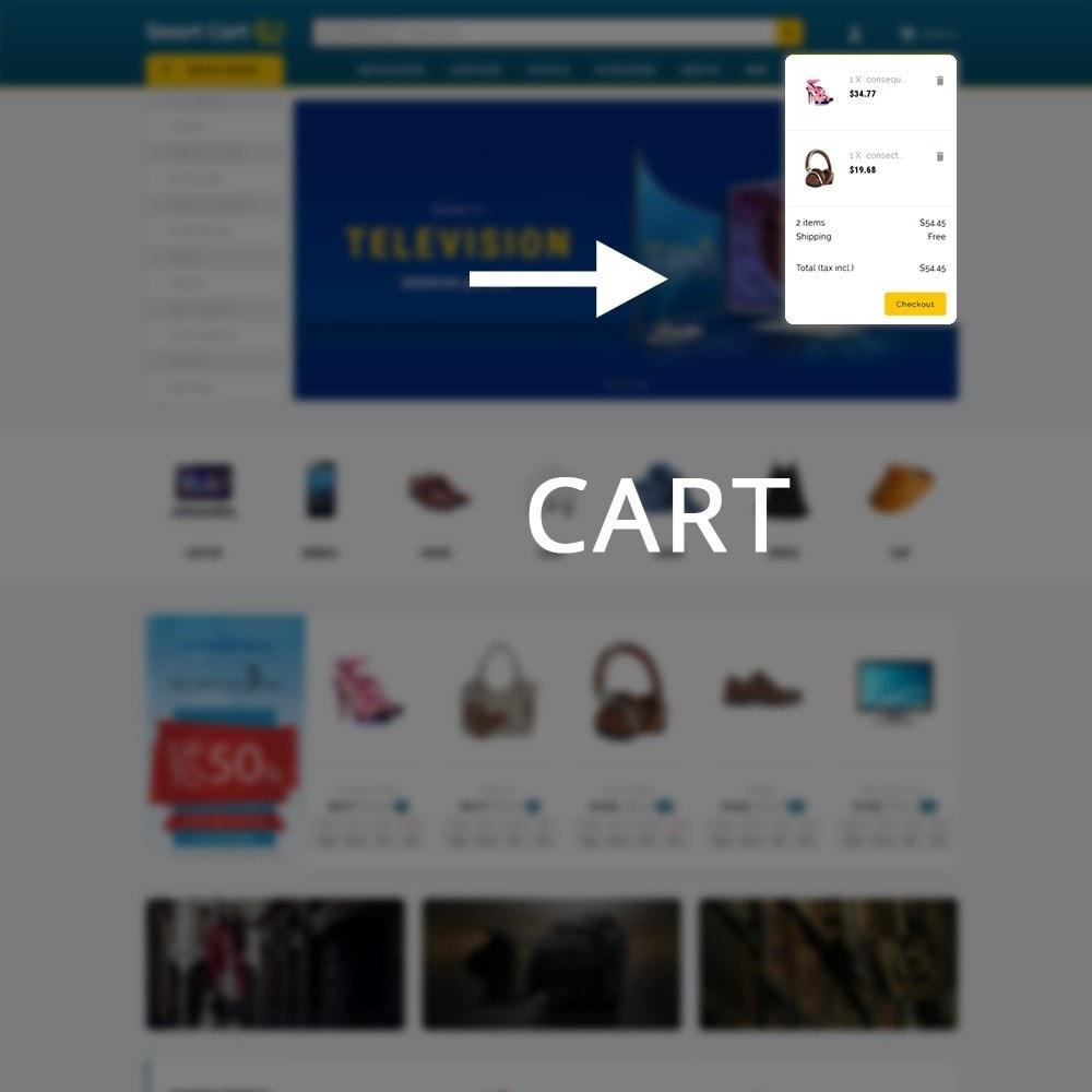 theme - Moda & Calzature - Smartcart Mega Store - 8