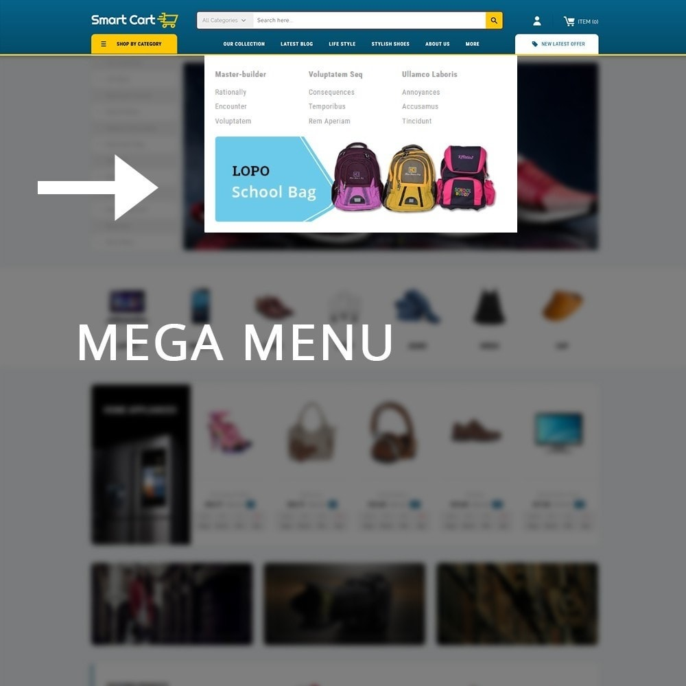 theme - Mode & Schoenen - Smartcart Mega Store - 9