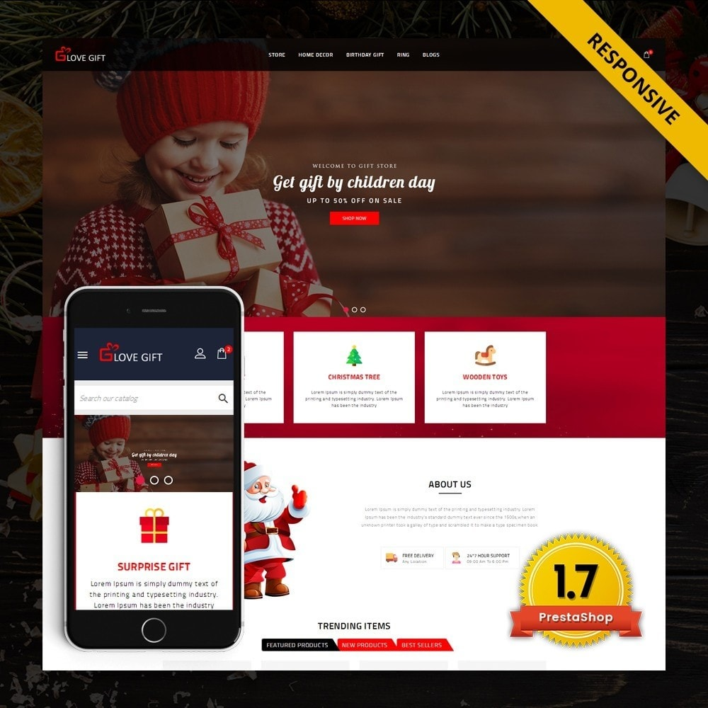 theme - Cadeaus, Bloemen & Gelegenheden - LoveGift - Gift Shop - 1