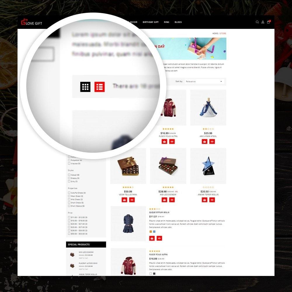 theme - Cadeaus, Bloemen & Gelegenheden - LoveGift - Gift Shop - 3