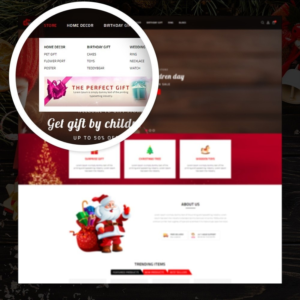 theme - Cadeaus, Bloemen & Gelegenheden - LoveGift - Gift Shop - 7