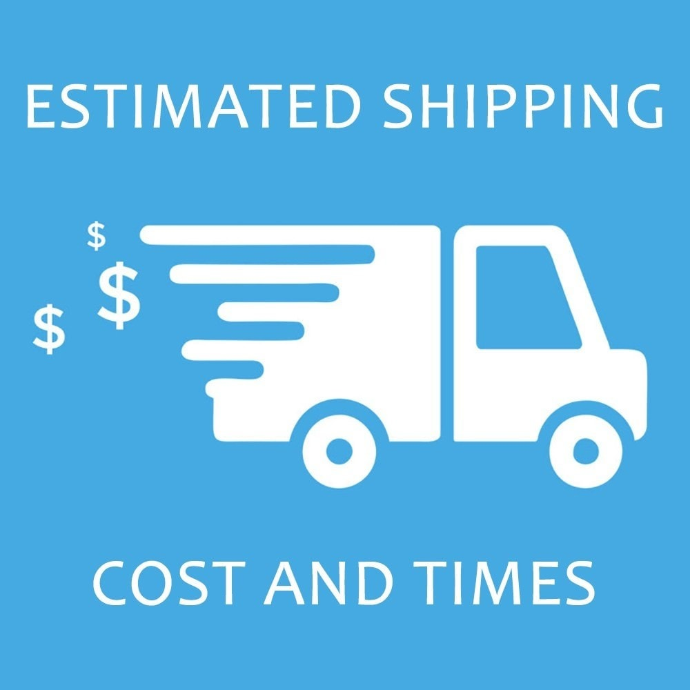 module - Data dostawy - Estimated Shipping Costs and Times - 1