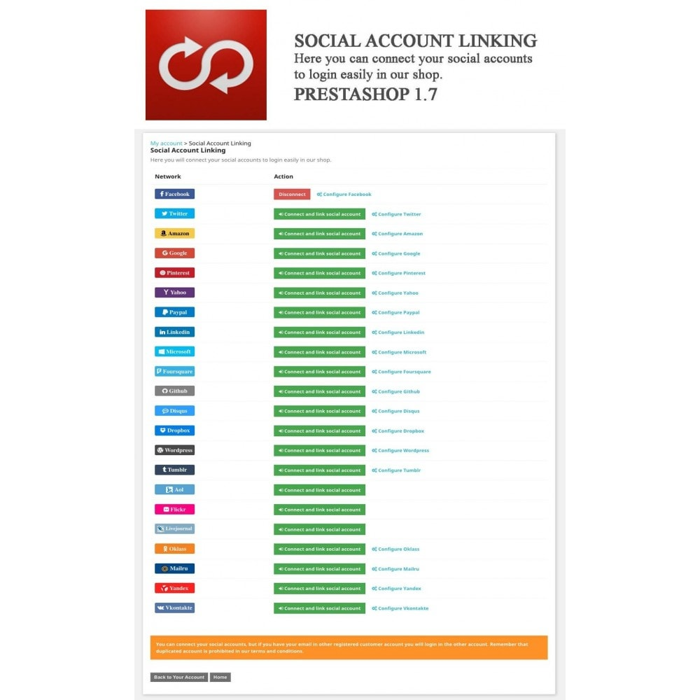 module - Social Login & Connect - MultiLogin 22 in 1 + Statistics - 7