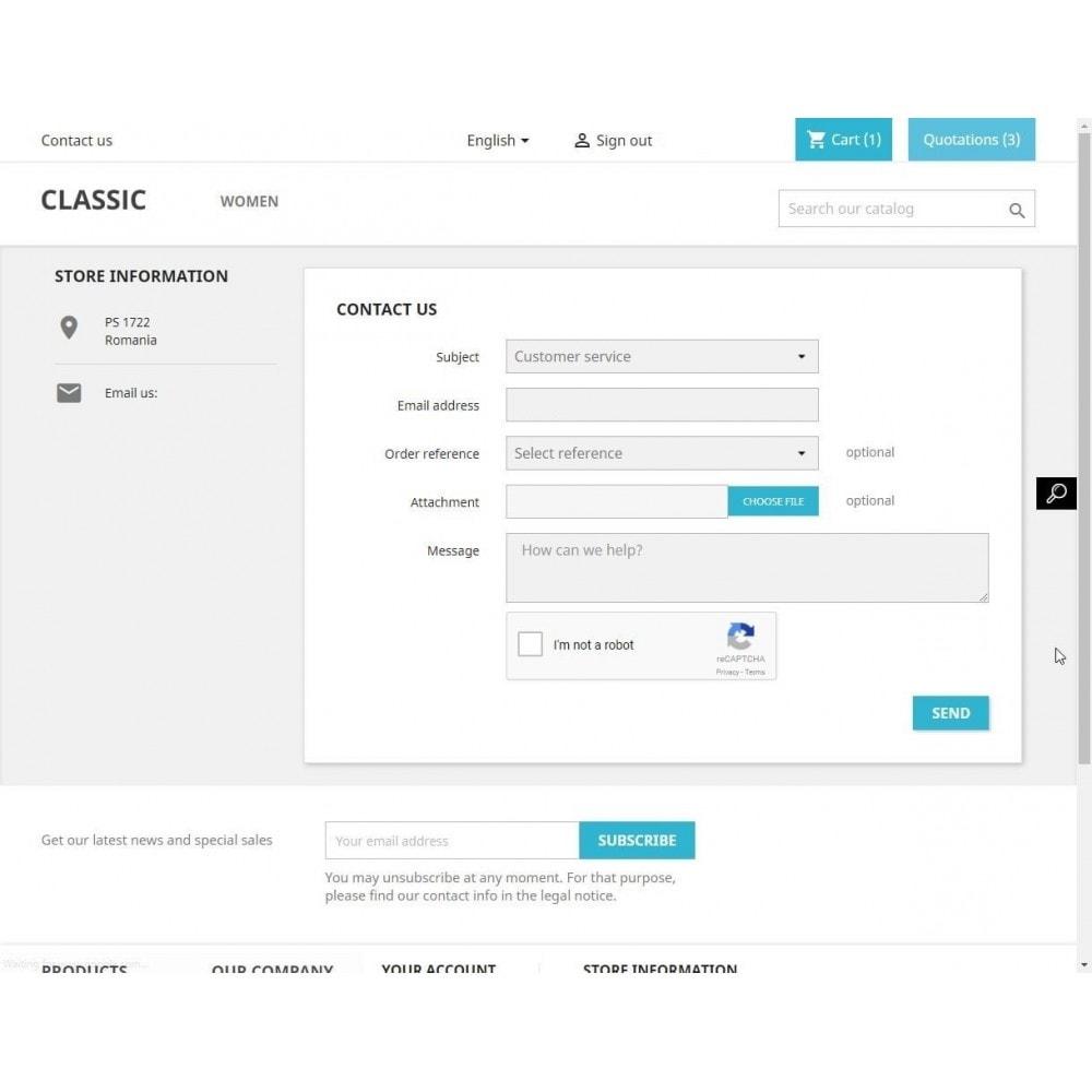 module - Security & Access - Contact form captcha - reCaptcha - 3