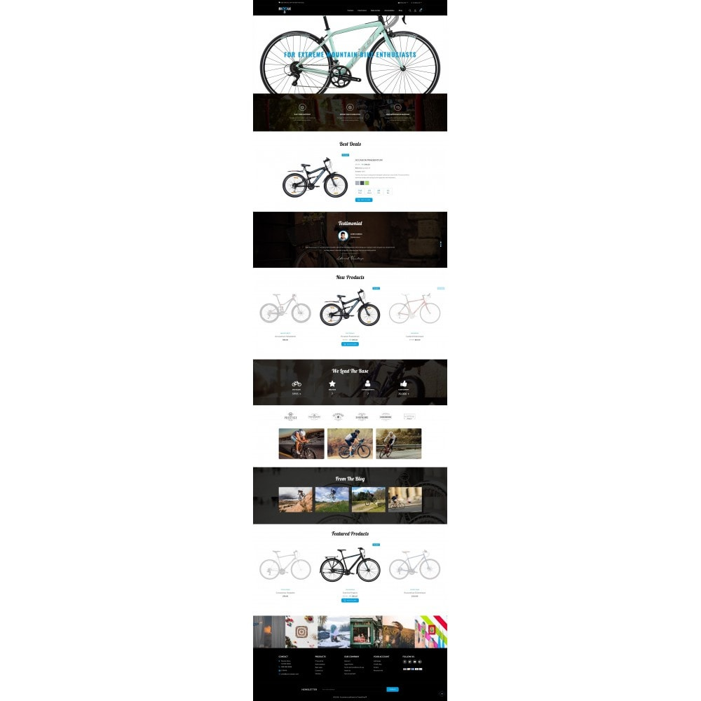theme - Auto & Moto - Bicycle Store - 2