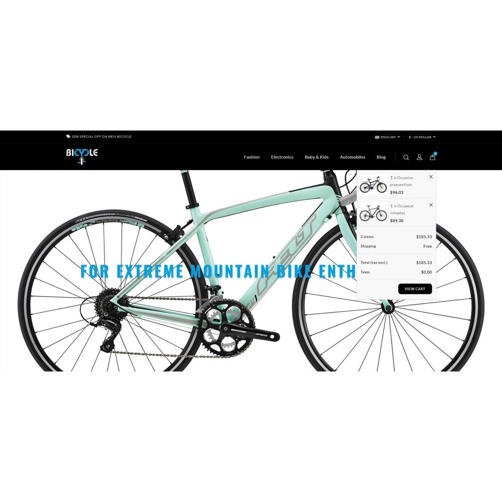 theme - Auto & Moto - Bicycle Store - 8
