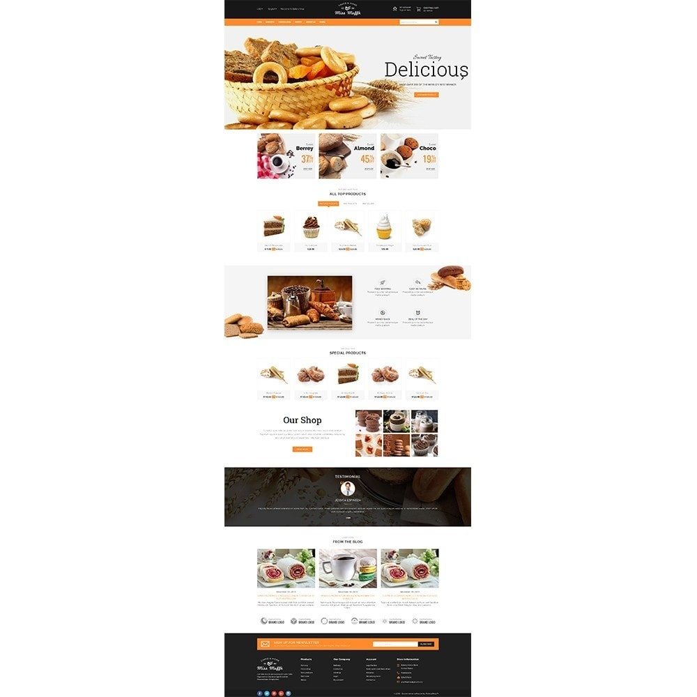 theme - Alimentation & Restauration - Bakery Store - 2