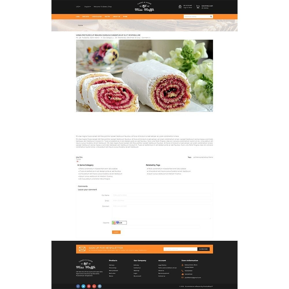 theme - Alimentation & Restauration - Bakery Store - 6