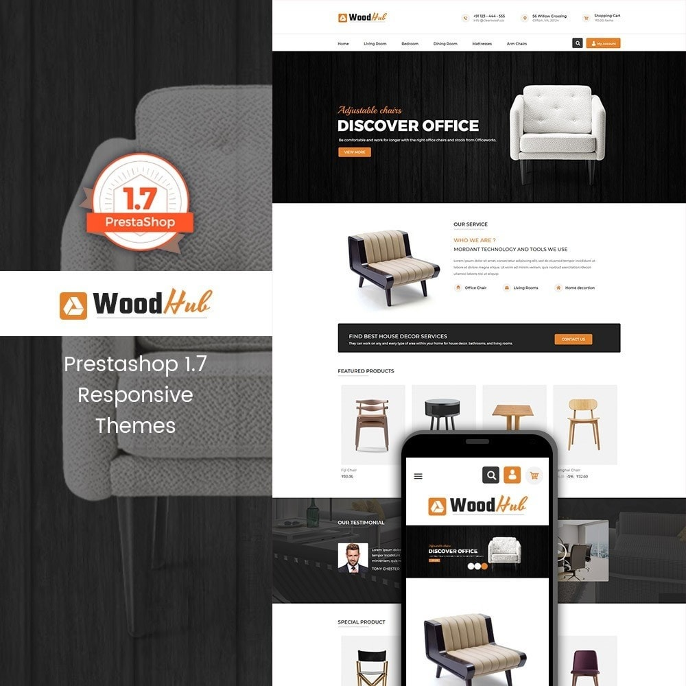 theme - Casa & Jardins - Woodhub Furniture Store - 1