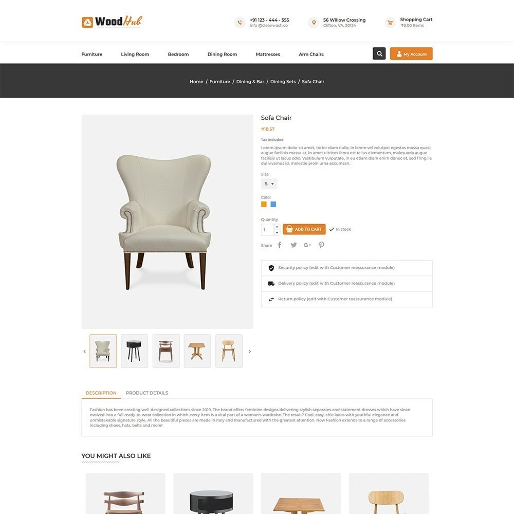 theme - Casa & Jardins - Woodhub Furniture Store - 5