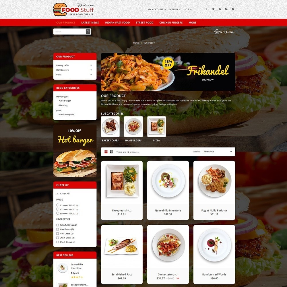 theme - Lebensmittel & Restaurants - Foodstuff Restaurant - 4